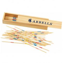 Custom Pick Up Sticks In Wooden Box