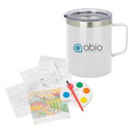 Custom Adult Paint Set And Coffee Mug