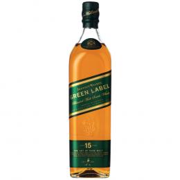 Johnnie Walker 750ml Green Label 15-Year-Old Blended Malt Scotch Whisky