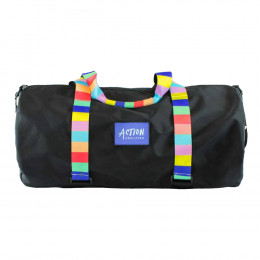Custom Ripstop Duffel Bag with Personalized Straps