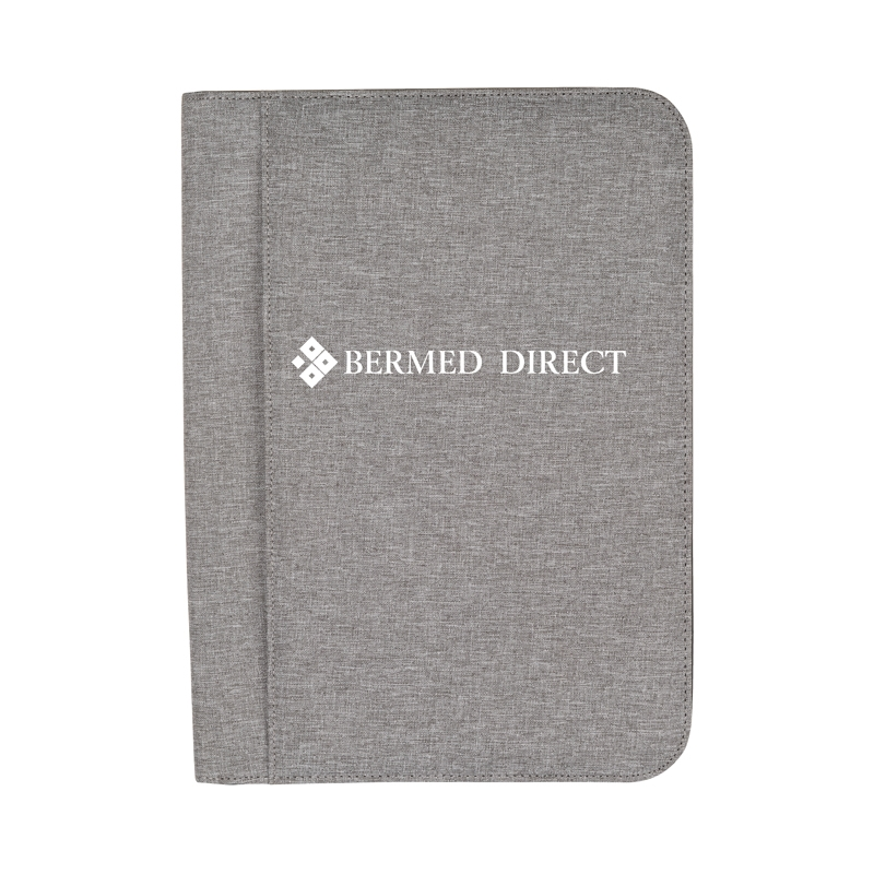 Custom Sterling RPET Zippered Letter Size Padfolio