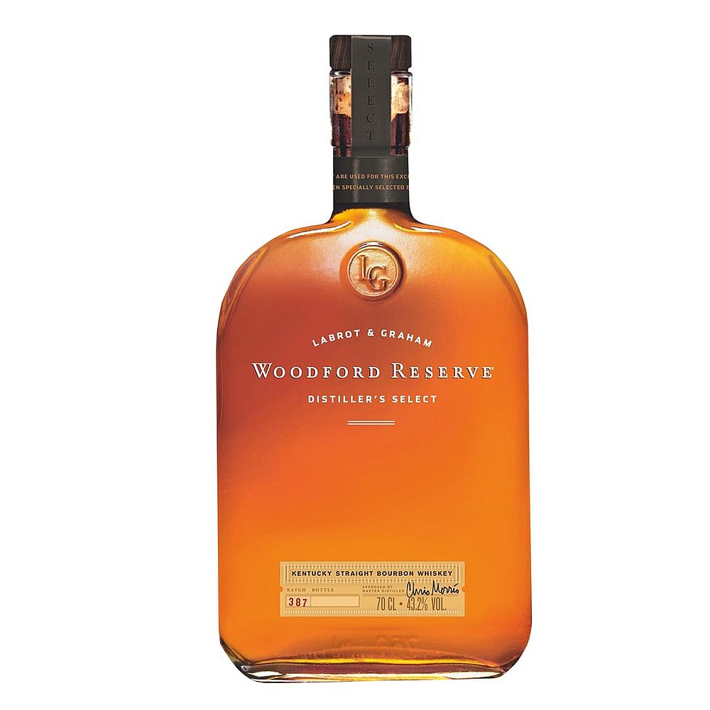 Labrot & Graham Woodford Reserve Kentucky Straight Bourbon 1000ml Whiskey with Complementary Elegant Gift Packaging