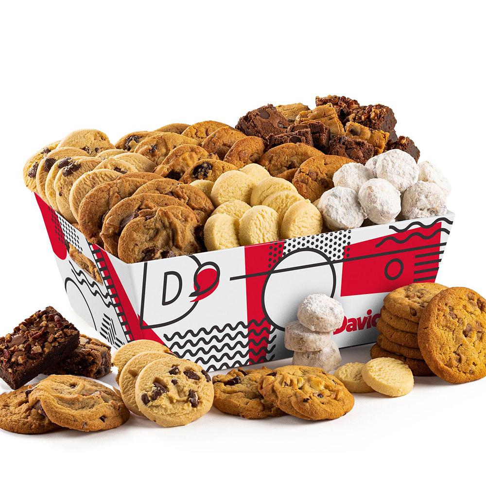 David's Cookies David's Signature Cookie Brownie Crate - 6lb