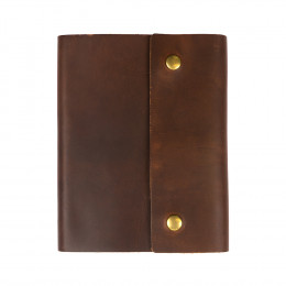Custom Writers Log Large Leather Notebook