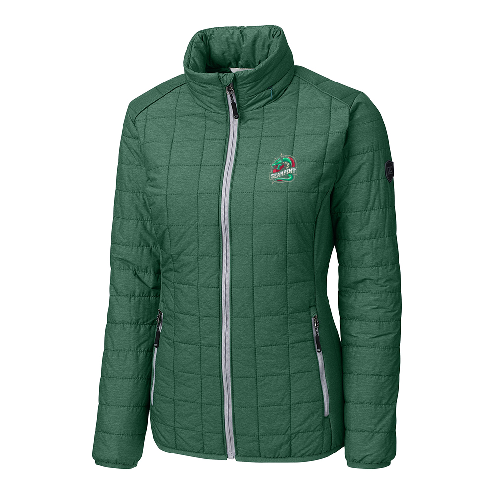 Custom Cutter & Buck Rainier PrimaLoft Eco Full Zip Jacket - Ladies