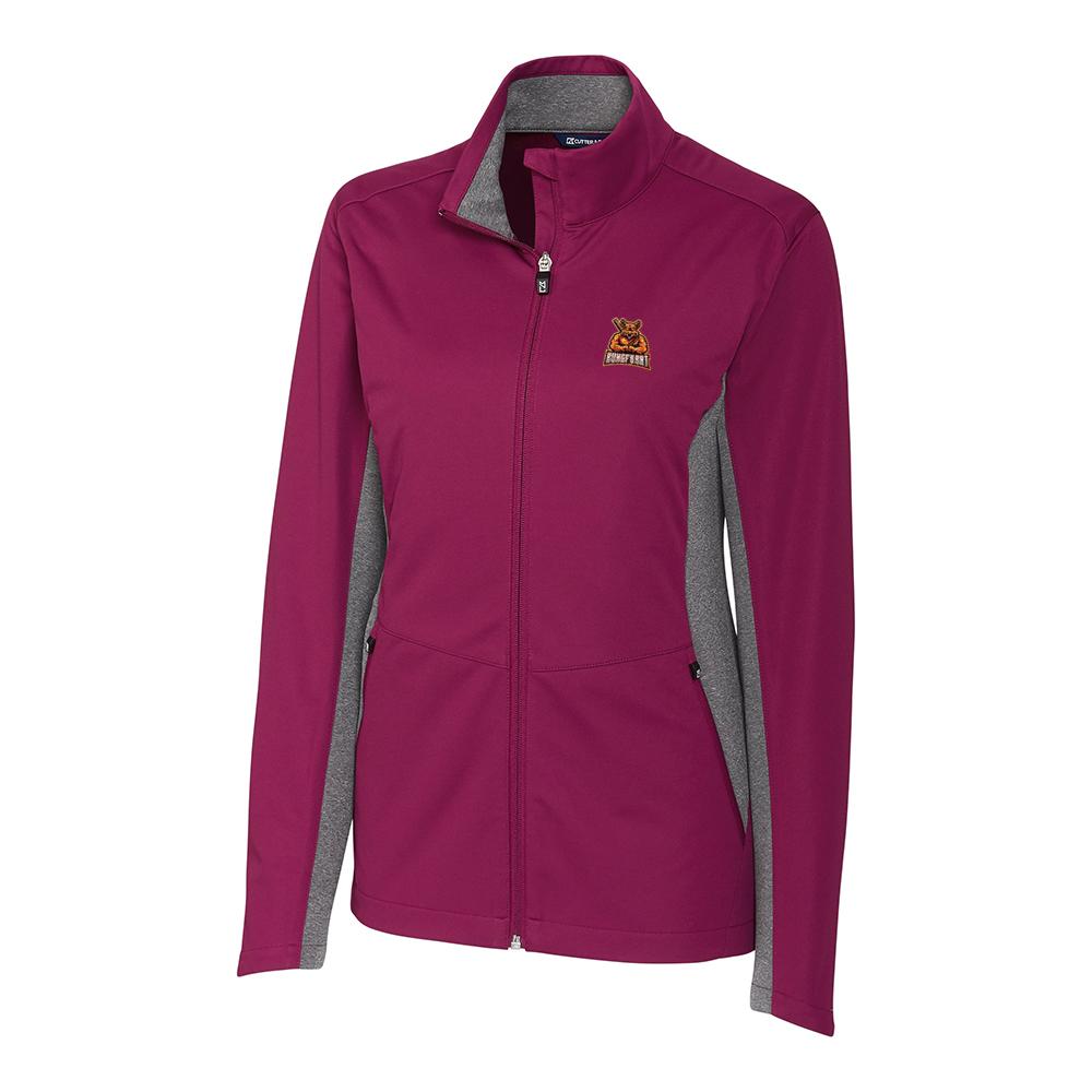 Custom Cutter & Buck Navigate Softshell Full Zip Jacket - Ladies