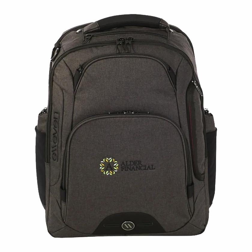 "Custom Elleven Rutter TSA 17"" Computer Backpack"