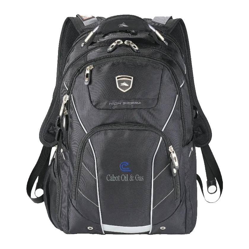 Custom High Sierra Elite Fly-By 17' Computer Backpack