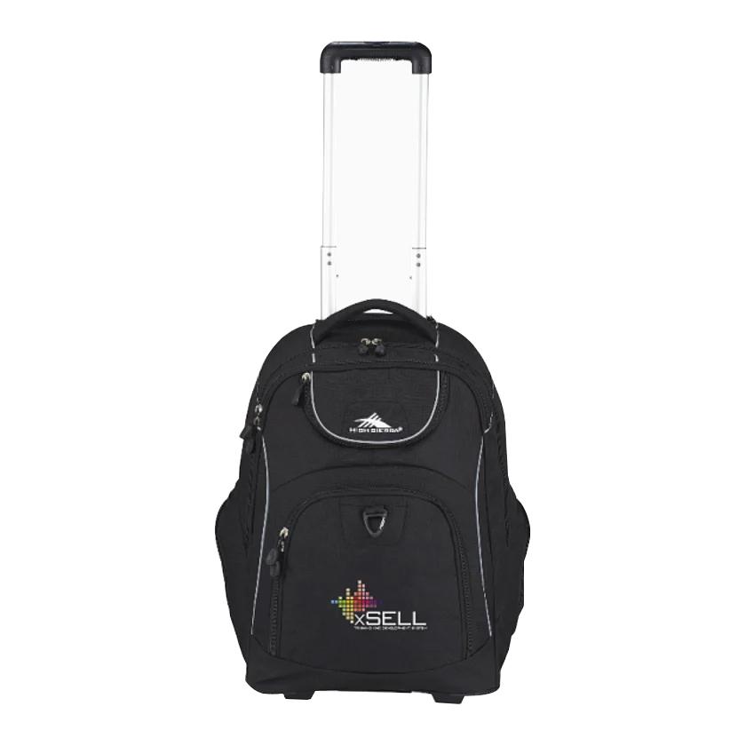 Custom High Sierra® Powerglide Wheeled Computer Backpack