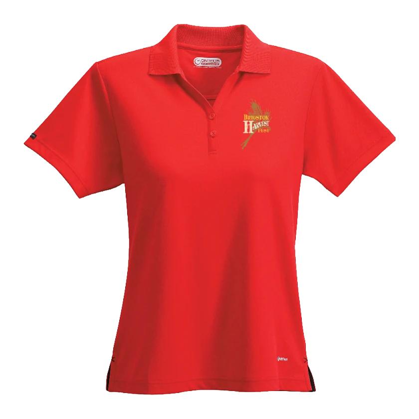 Moreno Short Sleeve Custom Polo -  Women's