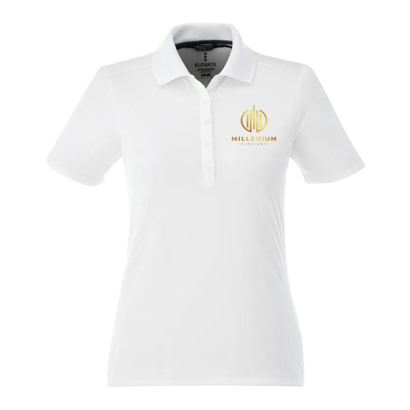 Dade Short Sleeve Custom Polo Tall - Women's