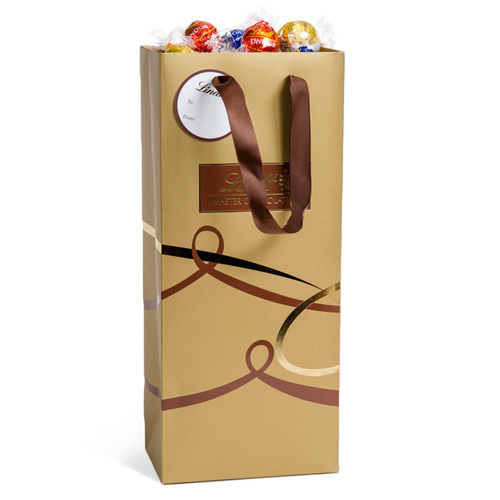 Lindt Assorted Lindor Gold Gift Bag (75pc 31.7oz)
