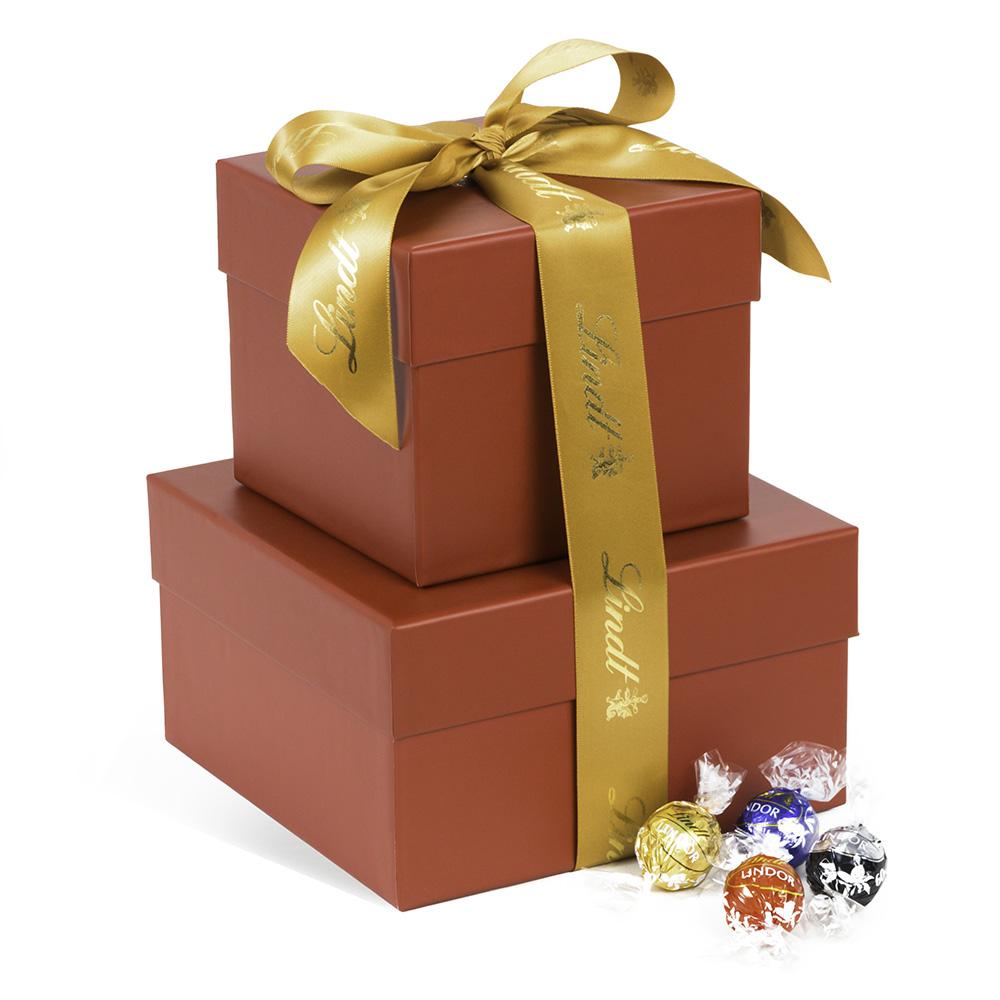 Lindt Favorites LINDOR Truffles Gift Tower - 112pc