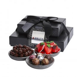 Stack of Premium Sweets Gourmet Gift Box