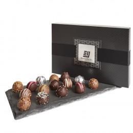 Belgian Chocolate Truffles Premium Gift Box - 15 pc