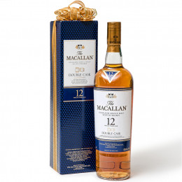 The Macallan 12-Year Double Cask Single Malt Scotch with Gift Packaging