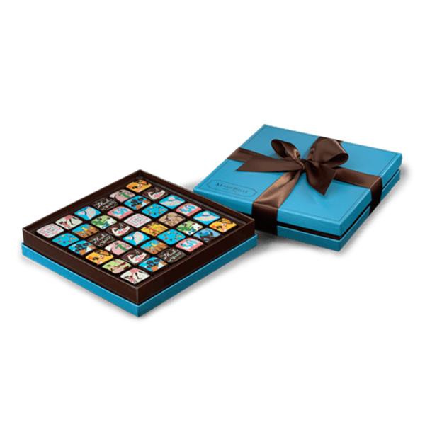 MarieBelle New York Chocolate Ganache Box - 36 pc