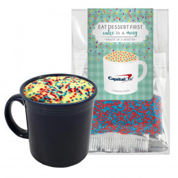 DIY Cake in a Cup Mix Clear Tote Bag