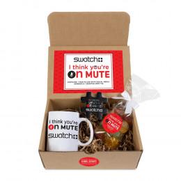 Custom I Think You're On Mute Ceramic Mug Drop Mailer Kit