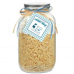 Crispy Rice Treats DIY Gift Jar