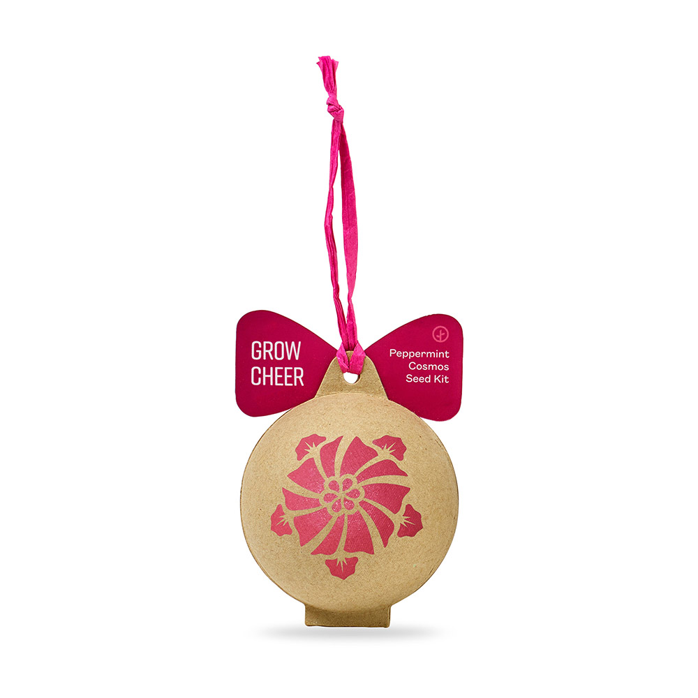 Modern Sprout Seed Ornament