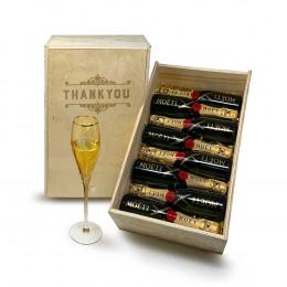 Moet & Chandon Brut Imperial 187ml 8pcs Gift Set