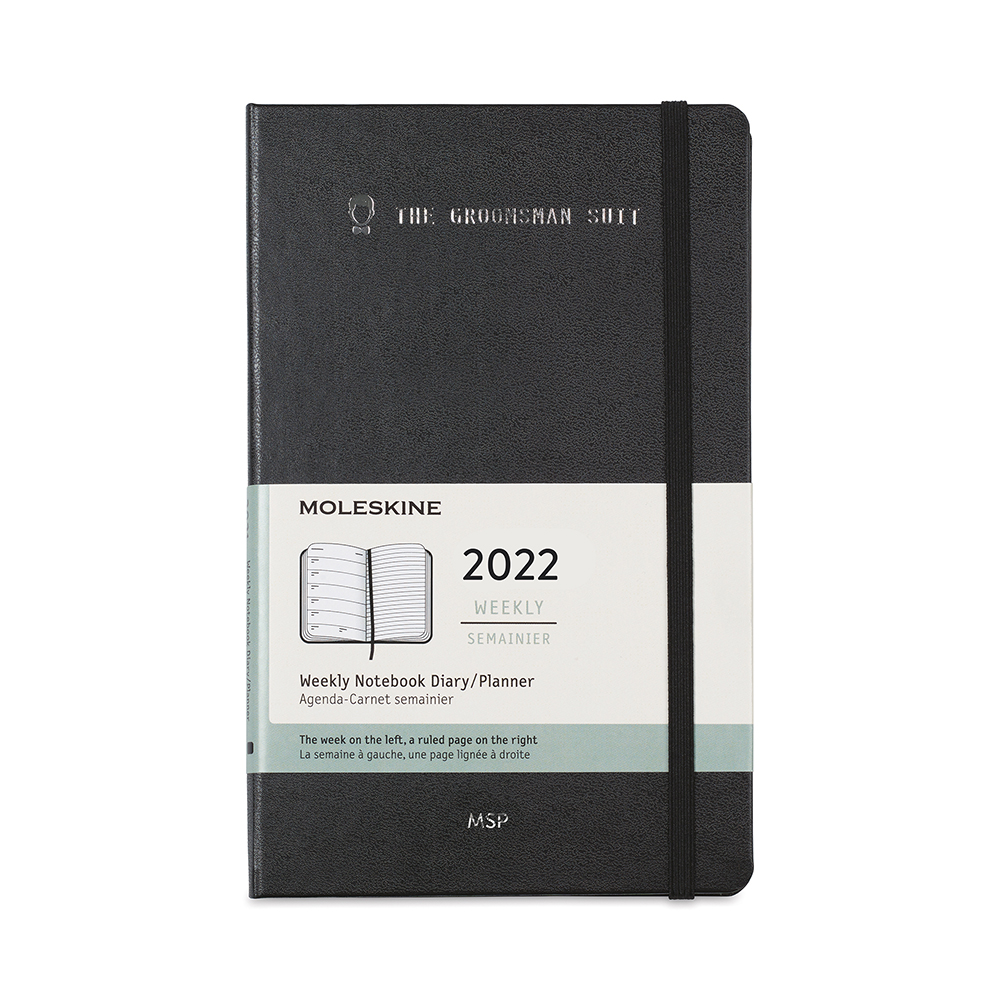 Moleskine® Hard Cover Large 12-Month Weekly 2022 Custom Planner