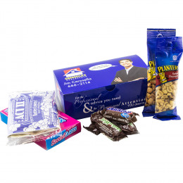 Custom Cinema Snacks and Treats Gift Box