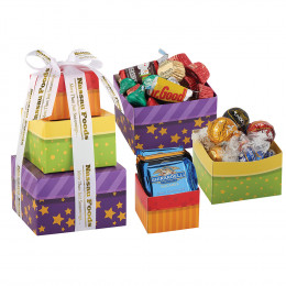Candy Treats Gift Box Tower