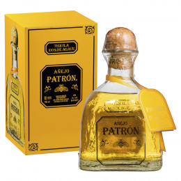 Patron Anejo Tequila - Complementary Elegant Packaging