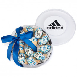 Custom Fortune Cookies - 12 Cookies in a Acetate Wheel with Logo and Theme Message