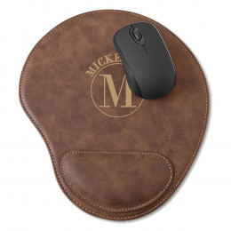 Personalized Rustic Mouse Pad