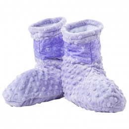 Relaxation Booties with Lavender Aromatherapy Inserts