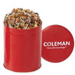 Custom Gourmet Popcorn Tin – 1 Quart (Choose Flavor)