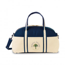 Custom Nantucket Cotton Weekender Bag
