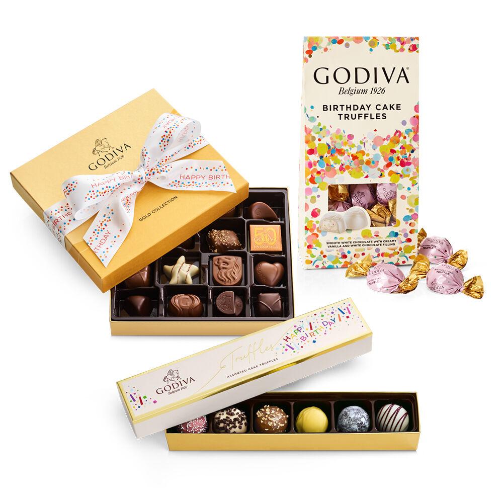Godiva Birthday Celebration Gift Set
