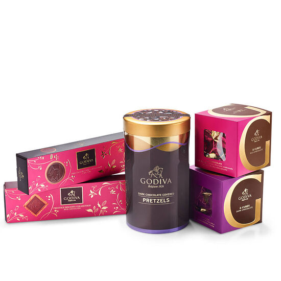 Godiva Chocolate Snacking Sampler
