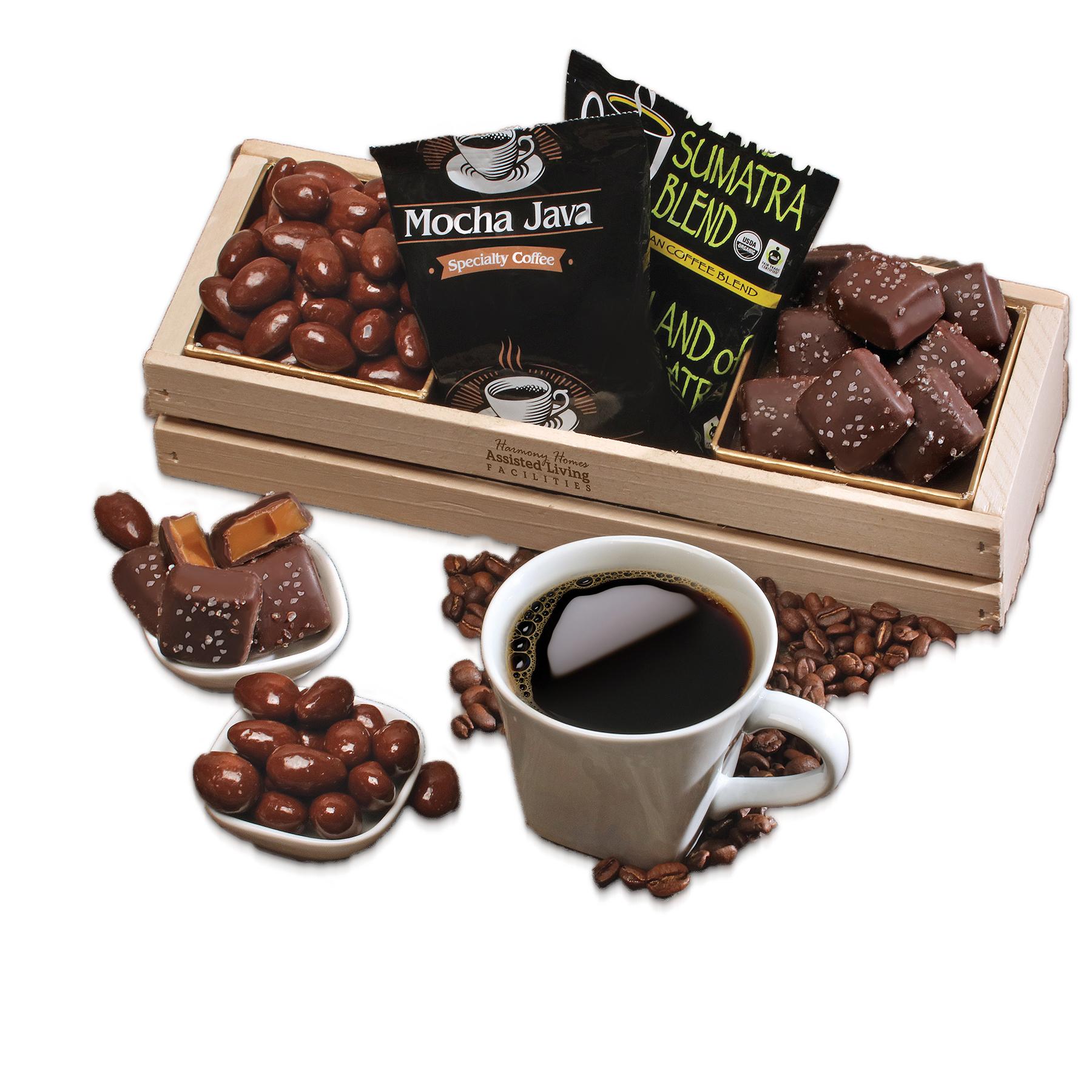 Custom Chocolate & Coffee Crate