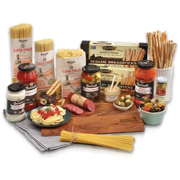 Custom Large Italian Themed Carving Board Gift Set