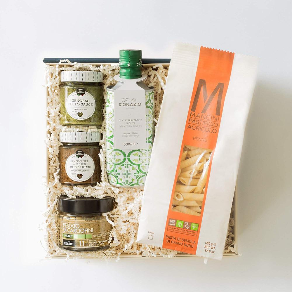 Pestos & Pasta Gift Set