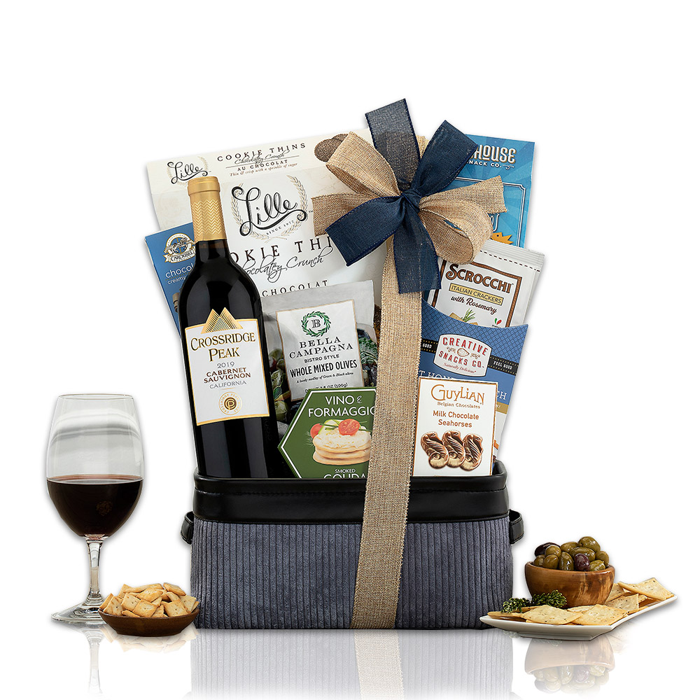 Crossridge Peak Cabernet Wine Gift Basket