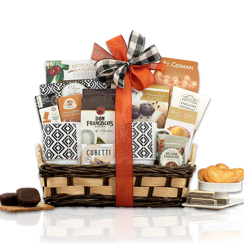 Coffee, Tea, Bakery and Sweets Gift Basket