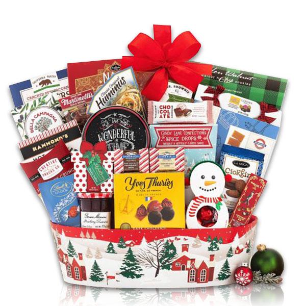 The Festive Gourmet Gift Basket