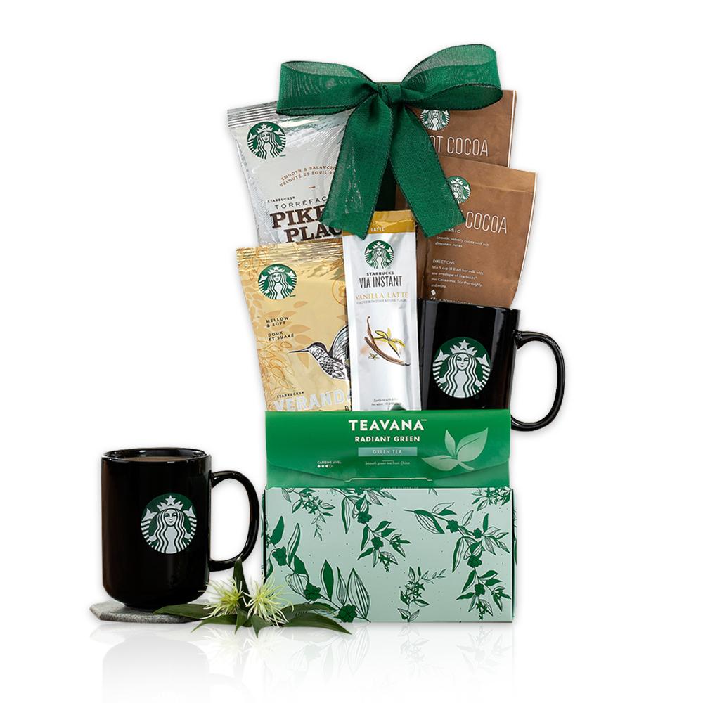 Starbucks and Teavana Assortment Gift Basket