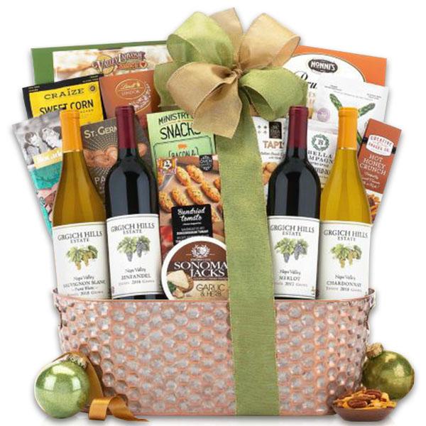 Grgich Hills Napa Valley Selection Wine Basket
