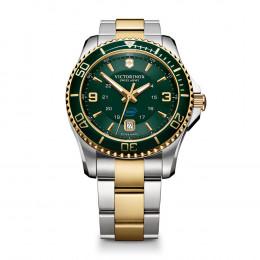 Custom Victorinox Swiss Army Maverick Stainless Steel Watch