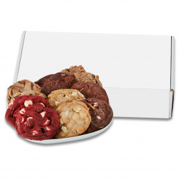 Fresh Baked Assorted Gourmet Cookie Gift Set in Mailer Box