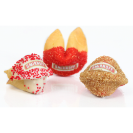 Custom Candy Coated Fortune Cookie -Individually Wrapped with Custom Message