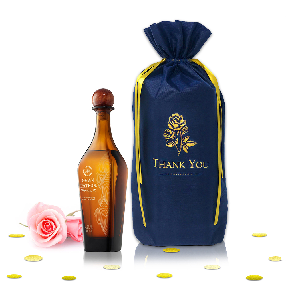Gran Patron Smoky Tequila 750ml - Complementary Elegant Packaging