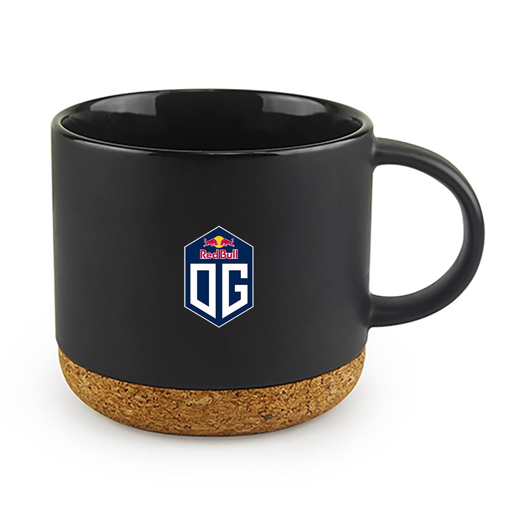 Custom Big Cork Ceramic Mug